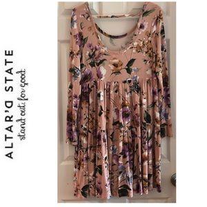 Altard State Babydoll Floral Dress